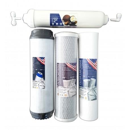 Filter Ersatz Katuschen 4 St./Комплект 4-x сменых фильтров